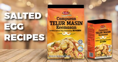 salted egg recipes
